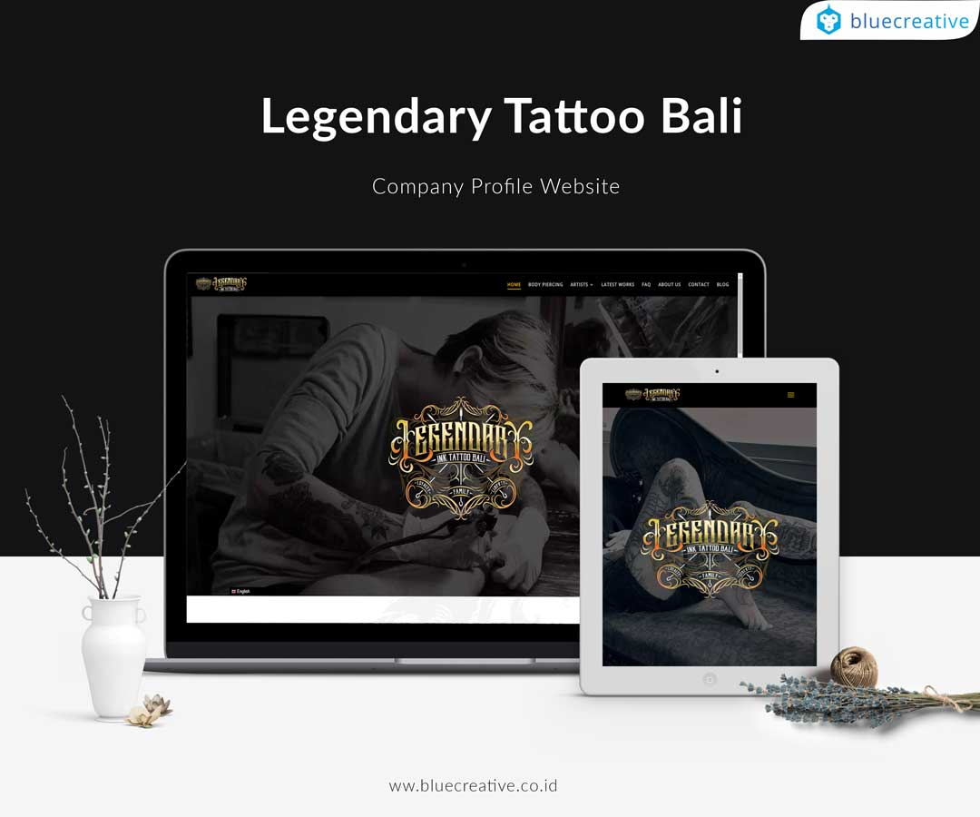 jasa pembuatan website tattoo bali